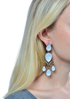Shimmering Opal Chandelier Earrings 12,90 € #happinessbtq