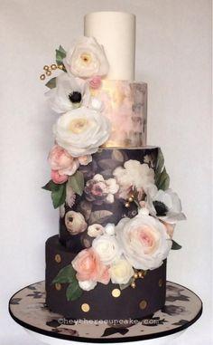 Signature HTC Wafer Paper Show Cake