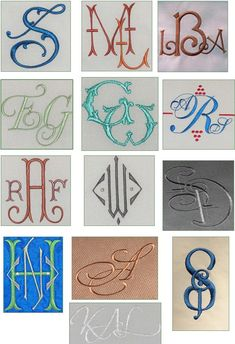 Monograms are a girls best friend, especially in the South where we monogram bedding, towels, stationery, luggage and sometimes clothing. I ...