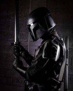 We were going to show you a picture of Cabur Shev'la of the Spec Ops Brigade for But all I see is a wall. Lego Star Wars, Star Wars Rpg, Star Wars Boba Fett, Star Wars Pictures, Star Wars Images, Cool Pictures, Mandolorian Armor, Chasseur De Primes, Mandalorian Cosplay