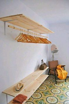 New Room Decor Diy Closet Spaces 58 Ideas Small Woodworking Projects, Easy Small Wood Projects, Rockler Woodworking, Woodworking Crafts, Woodworking Techniques, Woodworking Furniture, Closet Bedroom, Bedroom Storage, Bedroom Decor