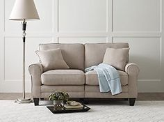 "Serta® RTA Copenhagen Collection 61"" Loveseat in Marzipan, CR43531PB: Kitchen & Dining: Get it for $237.99 (was $277.99) #coupons #discounts"