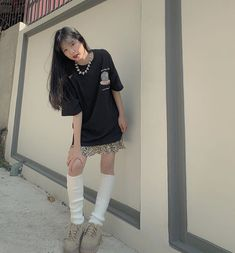 Japonese Girl, Black Jeans, Sporty, Shirt Dress, Photo And Video, Instagram, Dresses, Style, Idol