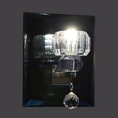 Artistic Crystal Wall Light with 1 LED Light  – USD $ 69.99