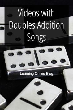 with Doubles Addition Songs Your kids can master addition math facts with these doubles addition songs.Your kids can master addition math facts with these doubles addition songs. Doubles Song, Math Doubles, Doubles Facts, Music For Kids, Math For Kids, Fun Math, Math Activities, Doubles Addition, Math Songs