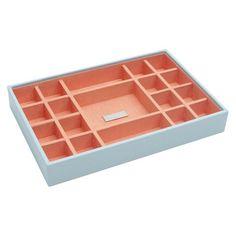 WOLF Medium Stackable Tray - Aqua