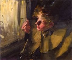 The Athenaeum - The Omnibus (study) (Anders Zorn - )