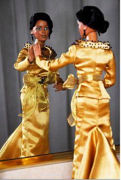 A designer gives the Black Barbie a makeover