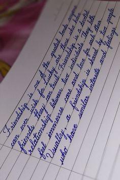 Handwriting Examples, Handwriting Alphabet, Handwriting Styles, Calligraphy Handwriting, Cursive Handwriting Practice, Improve Handwriting, Penmanship, Calligraphy Alphabet, Perfect Handwriting