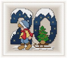 Advent Calendar - Motif 20, all 24 available