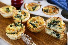 Pasta Med Pesto, Tapas, Gourmet Appetizers, Great Recipes, Favorite Recipes, Wellington Food, Food Pictures, Vegetarian Recipes, Good Food