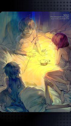 MAGI One thousand one night by shishio