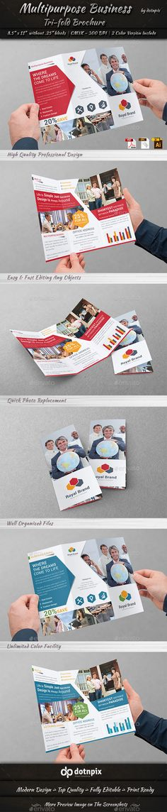 Multipurpose Business Tri-Fold