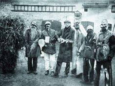 Maszkary zapustne z Jacewa, 1920-1933, Kujawy (fot. z książki B. Stelmachowskiej).