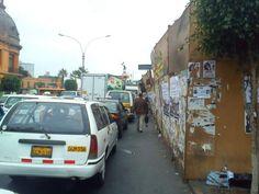 Foto ciudadana de hoy: Lima inseguridad vial