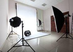 Photo about Interior of a modern photo studio. Image of creative, shot, light - 22274001 Home Photo Studio, Home Studio Photography, Light Photography, Photography Tips, Photography Studios, Product Photography, Photography Business, Studio Setup, Studio Lighting