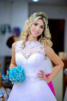 #casamento #vestido #buquêr #AzulTiffany