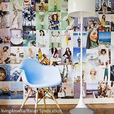 Eine tolle Idee für eine kreative Wandgestaltung ist eine Collage aus einzelnen Magazinseiten. Die Seiten aus Hochglanzmagazinen können einfach zu einer…