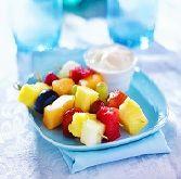 Seedless Red Raspberry Delight Fruit Dip