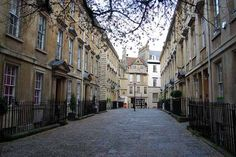 Bath, Somerset. Location of many Jane Austen novels. Distance from Shaftesbury to Bath is 33 miles.