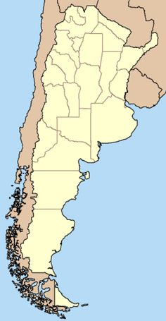 Argentina Political Map Features The International Boundary The - Argentina map by province