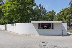 Reopened Trinkhalle near the Masters' Houses, 2016, Bauhaus Dessau Foundation / Tenschert, Yvonne