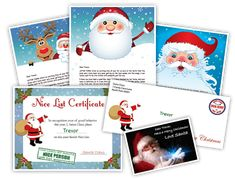 Free Letters From Santa Claus... making the holidays MAGICAL!!!! #lettersfrom santa #magic #merrychristmas