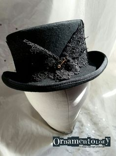 Steampunk inspired Top hat from www.ornamentology.co.uk