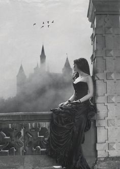 waiting at the castle wall