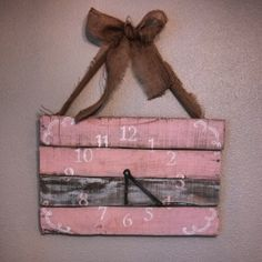 Doing for meghans baby girl Baby Boys, 3rd Baby, My Baby Girl, Girl Nursery, Nursery Ideas, Baby Turkey, Rustic Baby Nurseries, Clock Painting, Baby Diy Projects