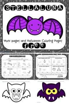 FREE PDF work page helps children compare and contrast themselves to bats and birds, bat masks