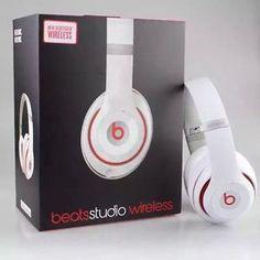 Brand New White Studio Just Arrive today For Sale we have 1 White Headphones, Wireless Headphones, Beats Headphones, Over Ear Headphones, Beats By Dr, Entertaining, Studio, Stuff To Buy