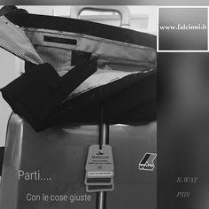 Pantalone traveller PT01, trolley K-WAY www.falcioni.it