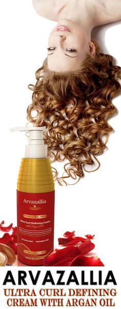 Arvazallia Ultra Curl Defining Cream with Argan Oil is Guaranteed to Give You Beautiful, Soft, Natural Looking, Frizz Free Curls. Click Here Now To Learn More >> http://www.arvazallia.com/ultracurlcreampinpromo