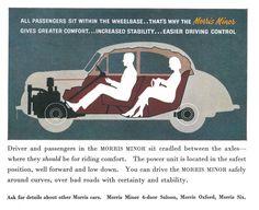 Power Unit, Morris Minor, Chris Craft, Fancy Cars, Classic Cars, The Unit, Ads, Vintage, Luxury Cars