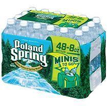 Poland Spring Bottled Water, 40 Count Poland Spring