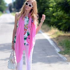 From today's post: http://www.theblondesalad.com/2012/06/isabel-marant-maxi-scarf.html - @chiaraferragni- #webstagram