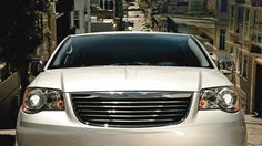 The 2014 Chrysler Town & Country Touring-L includes quad halogen headlamps.