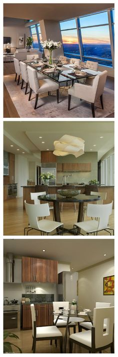 22 Remarkable White Chairs in Condominium Dining Areas Don't you love white chairs for the dining area? You will love it even more after seeing this list.    Since many people live in condominiums these days, it is no wonder why there are many lovely condo interiors that are popping out...