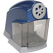 X-ACTO School Pro 1670 Electric Pencil Sharpener.  I am in love with this.  It's expensive because this is the BEST and LAST electric sharpener you will ever purchase.  You are going to have to trust me on this.  It ROCKS!