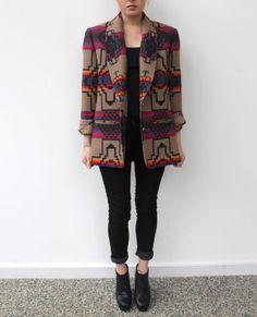 My Pendleton Blazer #pendleton #pendleton coat #pendleton jacket