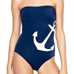Le maillot une-pièce sans bretelle - Louloumagazine.com