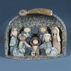 Betlémy Christmas Clay, Christmas Nativity Scene, A Christmas Story, Christmas Crafts, Xmas, Ceramic Shop, Ceramic Art, Nativity Crafts, Nativity Sets