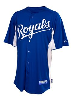 a8a4c0fe4 Click Image Above To Buy  Kansas City Royals Authentic 2012 Cool Base  Batting Practice Mlb Baseball Jersey