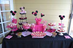 Minnie Mouse Baby Shower Theme | The Zimmerman Family: April (the end of) & May