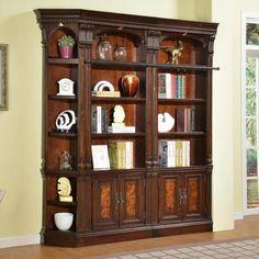 Parker House Corsica Corner Bookcase