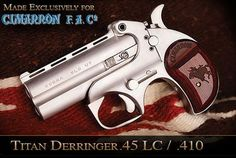 The Cobra Titan Derringer .45LC/.410