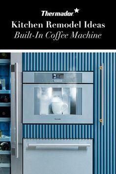 Steaming hot kitchen design trends you won't want to miss. From Built-In Coffee to Sleek Steam Ovens. Perth, Brisbane, Diy Magazine Holder, Diy Kitchen Cabinets, Organizer, Kitchen Organization, Furniture Makeover, Kitchen Remodel, Mid-century Modern