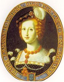 Beatrice of Portugal - Daughter of Manuel I and Maria of Aragon. She married Charles III, Duke of Savoy, and had one son. Portuguese Royal Family, Spanish Netherlands, History Of Portugal, Tudor Era, Holy Roman Empire, Wars Of The Roses, Aragon, Historical Photos, Historical Clothing