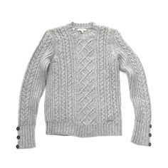 Barbour Barrasford Sweater Timeless investment piece and VERY well priced at $149. Love the buttons at wrists.